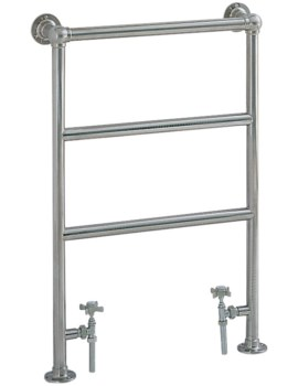 Heritage Portland Heated Towel rail 575 x 850mm