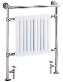 Heritage Clifton Heated Towel Rail 735 x 940mm