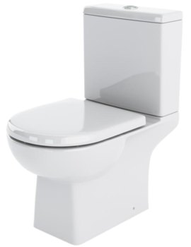 Nuie Premier Asselby 670mm Close Coupled WC And Cistern