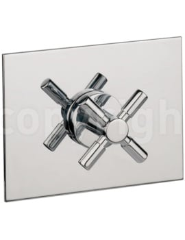 Crosswater Totti Shut-Off Shower Valve Chrome
