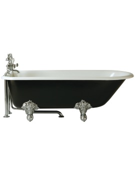 Heritage Essex 2 Taphole Cast Iron Bath With Feet 1700 x 770mm