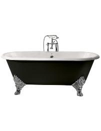 Heritage Grand Buckingham Cast Iron Roll Top Bath With Feet