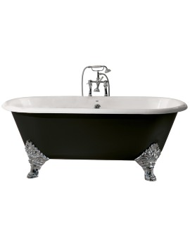 Heritage Grand Buckingham Cast Iron Roll Top Bath With Feet