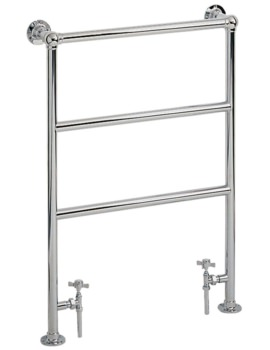 Heritage Victorian Heated Towel Rail 675 x 940mm