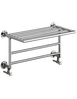 Heritage Quirinius Wall Mounted Heated Towel Rail 685 x 431