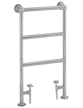 Heritage Portland Cloakroom Heated Towel Rail 457 x 850mm