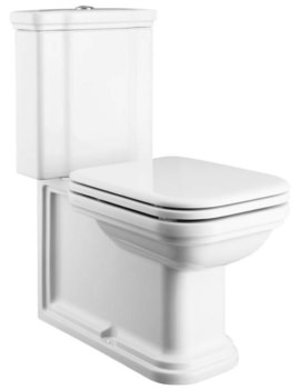 Bauhaus Waldorf Close Coupled WC Pan And Cistern 680mm