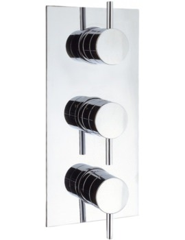 Crosswater Elite Thermostatic Shower Valve With 3 Control Portrait