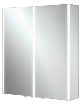 HIB Xenon 60 Double Door Aluminium Cabinet With LED Illumination