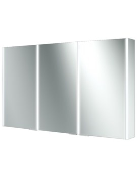 HIB Xenon 120 Triple Door Aluminium Cabinet With LED Illumination
