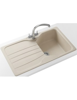 Franke Calypso Propack COG 611 Fragranite Coffee Kitchen Sink And Tap