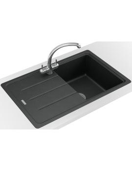 Franke Basis Propack BFG 611-780 Fragranite Onyx Kitchen Sink And Tap