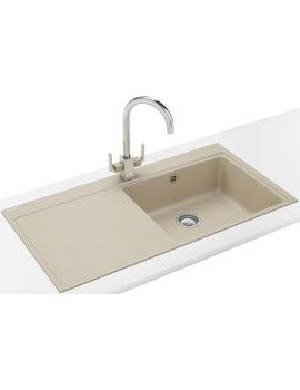 Franke Mythos MTG 611 DP - Fragranite Coffee Left Drainer Sink And Tap