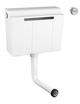 Grohe Dual Flush Concealed Cistern - Bottom Supply