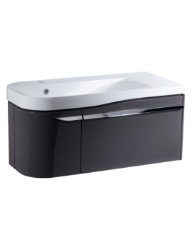 Roper Rhodes Cirrus 900mm Gloss Clay Unit With Basin Left Hand
