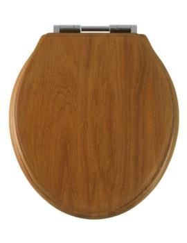 Roper Rhodes Greenwich Honey Oak Solid Wood Toilet Seat