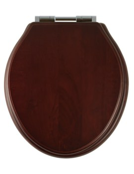 Roper Rhodes Greenwich Mahogany Solid Wood Toilet Seat