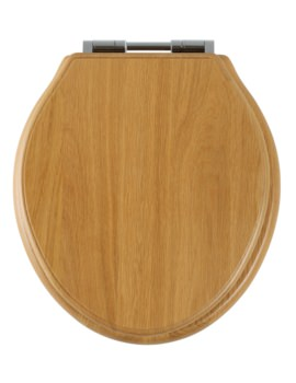 Roper Rhodes Greenwich Natural Oak Solid Wood Toilet Seat