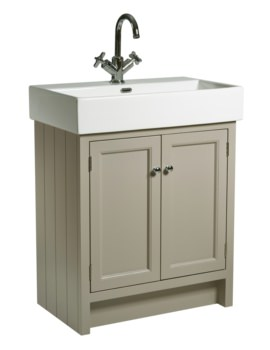 Roper Rhodes Hampton 700mm Mocha Vanity Unit With Basin