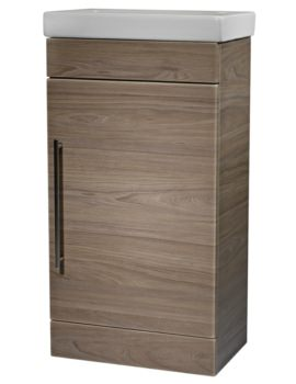 Roper Rhodes Esta 460mm Dark Elm Freestanding Unit With Basin