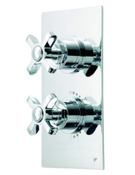 Roper Rhodes Wessex Inline Single Function Concealed Thermostatic Valve