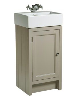 Roper Rhodes Hampton 420mm Mocha Cloakroom Unit With Basin