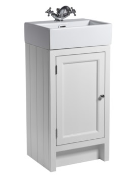 Roper Rhodes Hampton 420mm Chalk White Cloakroom Unit With Basin