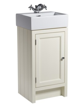 Roper Rhodes Hampton 420mm Vanilla Cloakroom Unit With Basin