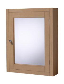 Roper Rhodes Hampton 565mm Natural Oak Mirror Cabinet