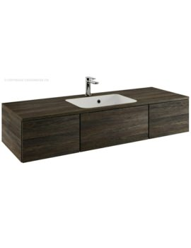 Bauhaus Pier 1200mm Wall Hung Console Unit And Basin