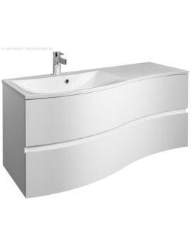 Bauhaus Svelte 1200mm Two Drawer Unit And Basin