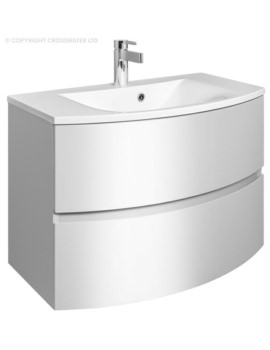 Bauhaus Svelte 800mm Two Drawer Unit And Basin