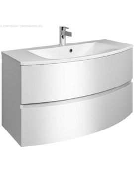 Bauhaus Svelte 1000mm Two Drawer Unit And Basin