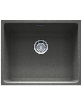 Franke Kubus KBG 110 50 Fragranite Stone Grey Undermount Sink - 1.0 Bowl