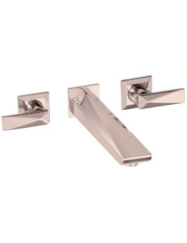 Heritage Hemsby Rose Gold Wall Mounted Bath Filler Tap