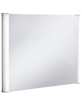 Bauhaus Serene Illuminated Bathroom Mirror 800 x 600mm