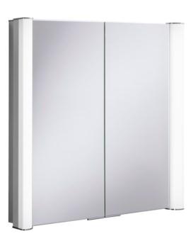 Bauhaus Duo 800 Illuminated Mirrored Cabinet