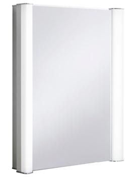 Bauhaus Duo 600 Illuminated Mirrored Cabinet