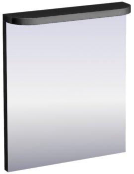 Britton Aqua Cabinets Compact Black 600mm Illuminated Mirror