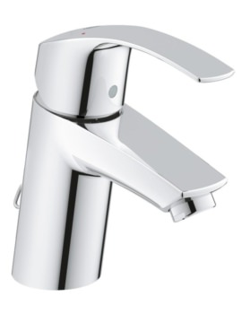 Grohe Eurosmart Basin Mixer Tap With Retractable Chain