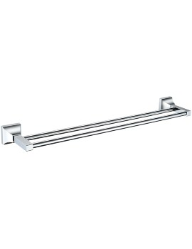 Heritage Chancery 590mm Double Bar Towel Rail