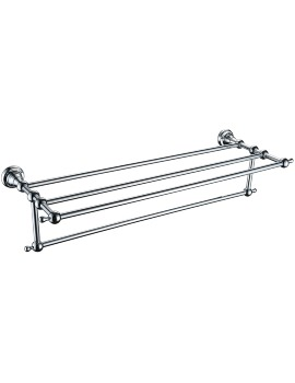 Heritage Holborn Bathroom 615mm Double Towel Shelf