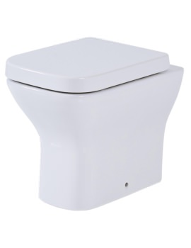 Phoenix Megan Back To Wall WC Pan With Soft Close Seat And Cover