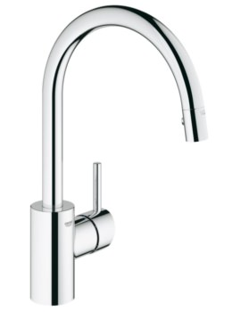 Grohe Concetto Single Lever Kitchen Sink Mixer Tap Chrome