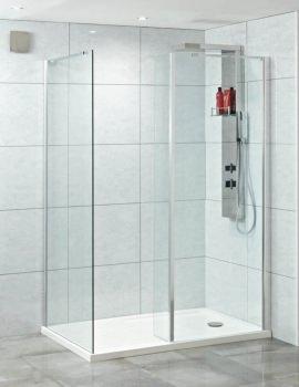 Phoenix Techno Corner Shower Enclosure 1400 x 900 - Pack 6