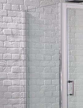 Aquadart Venturi 6 900mm x 1900mm Side Panel For Shower Enclosure