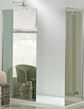 Phoenix Eco 8mm Mirror Glass Shower Panel 1000mm