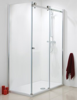 Phoenix 8mm Frameless Sliding Enclosure Side Panel 700 x 1950mm