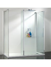 Phoenix Vision Single Wall Shower Enclosure 1400 x 900mm Pack 6