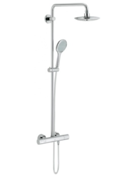 Grohe Rainshower Solo System 210 Shower System With Thermostat